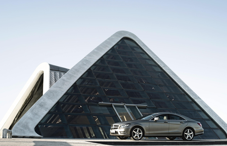2012 Mercedes-Benz CLS начало продаж - фотография №3