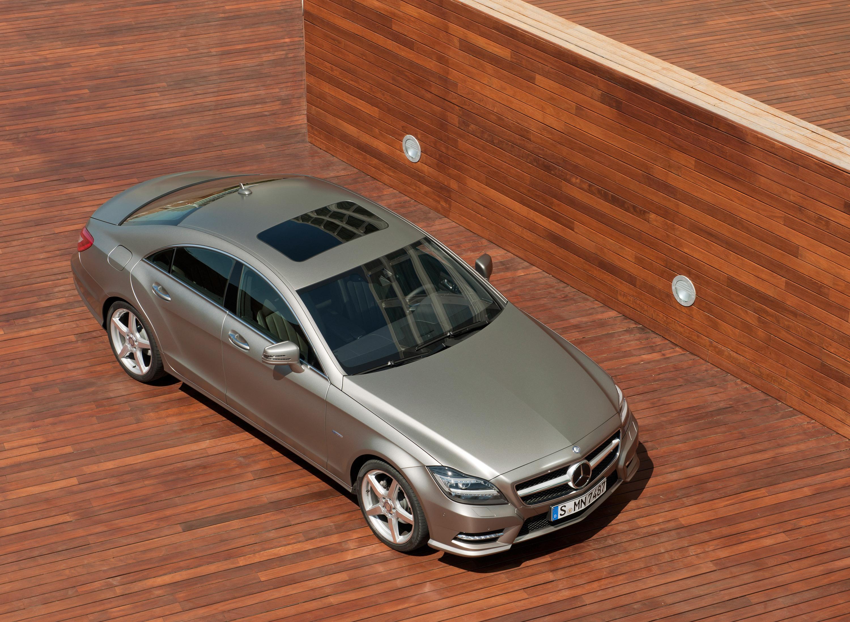 2012 Mercedes-Benz CLS начало продаж - фотография №5