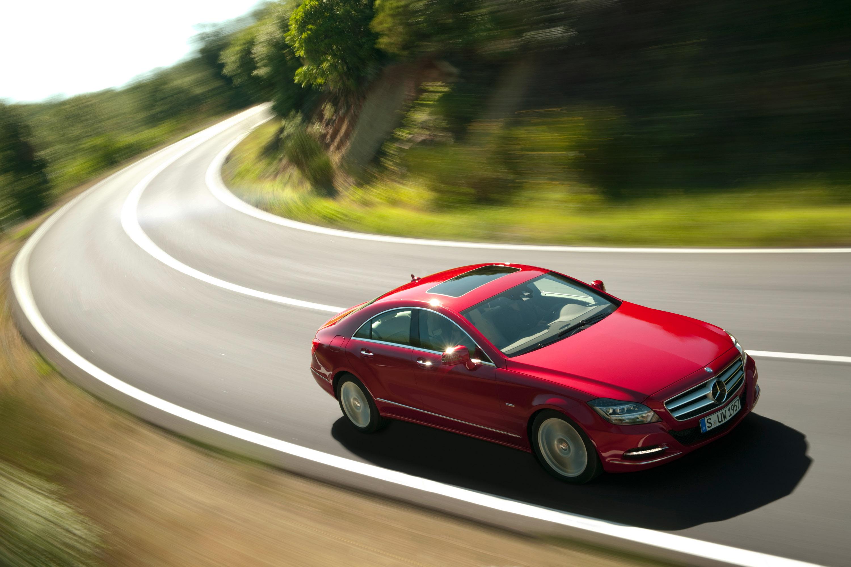 2012 Mercedes-Benz CLS начало продаж - фотография №10