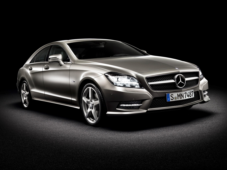 2012 Mercedes-Benz CLS забастовки впереди Париж 2010 - фотография №10