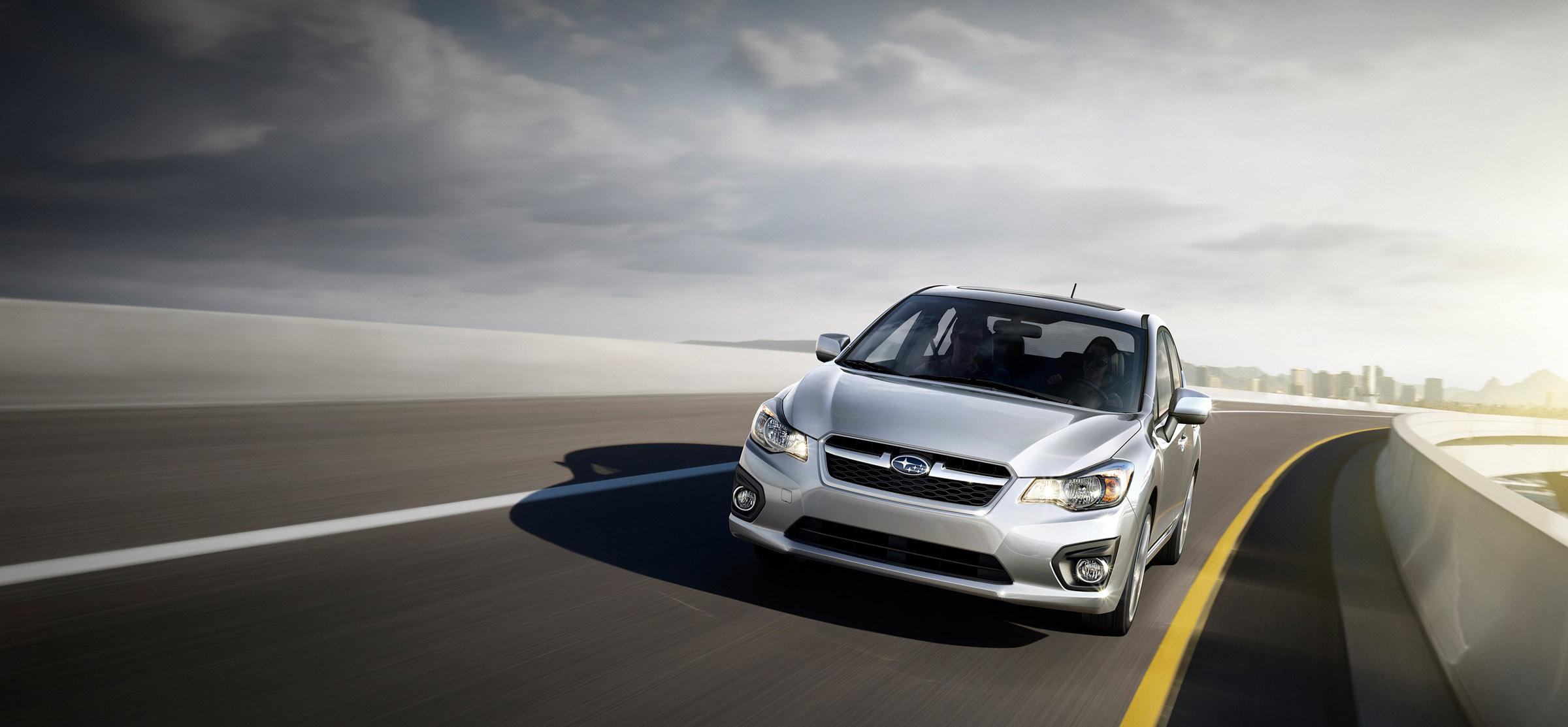 2012 - Subaru Impreza 2-0i лимитированная четвертая версия (фотографии) - фотография №1