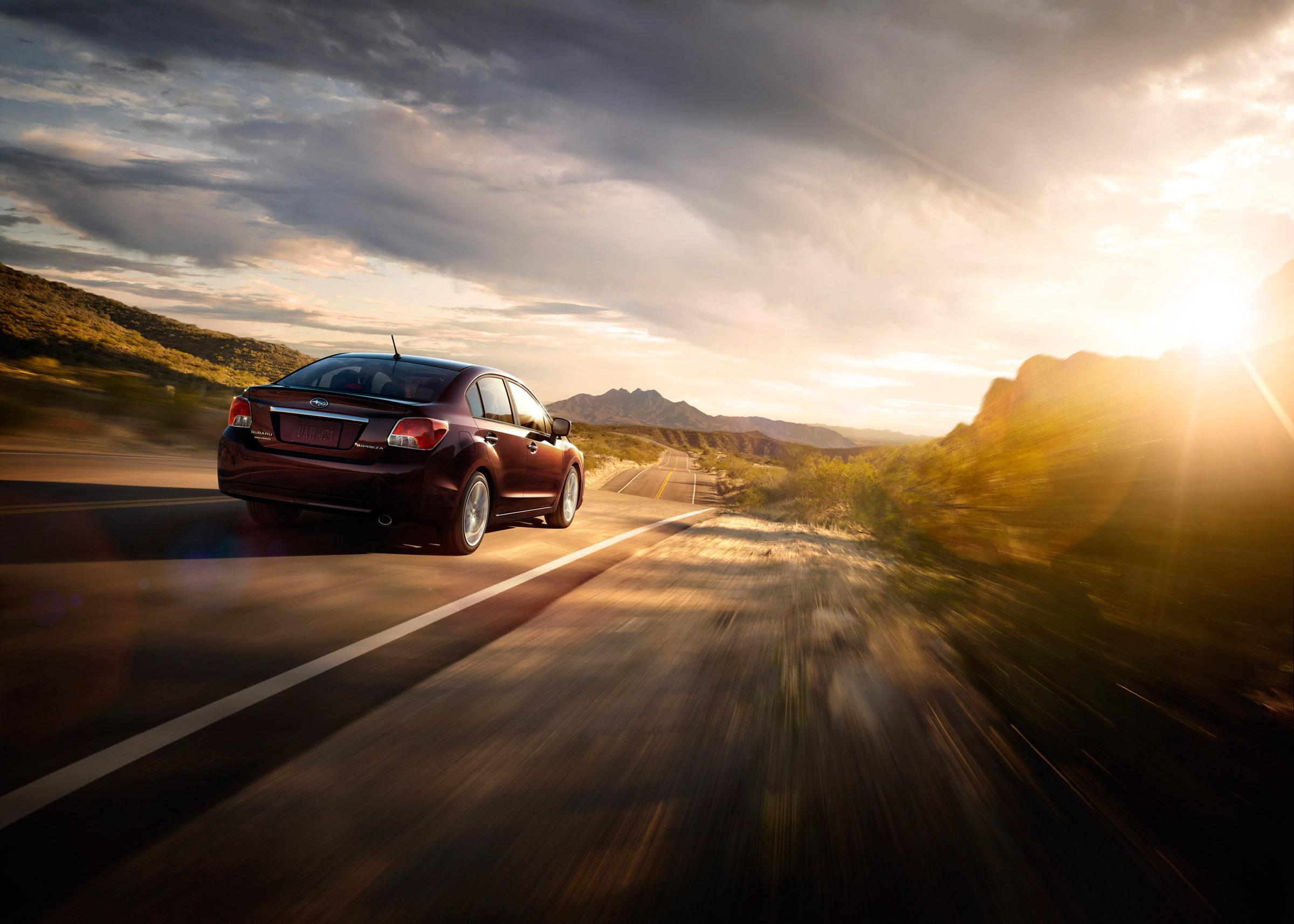 2012 - Subaru Impreza 2-0i лимитированная четвертая версия (фотографии) - фотография №2