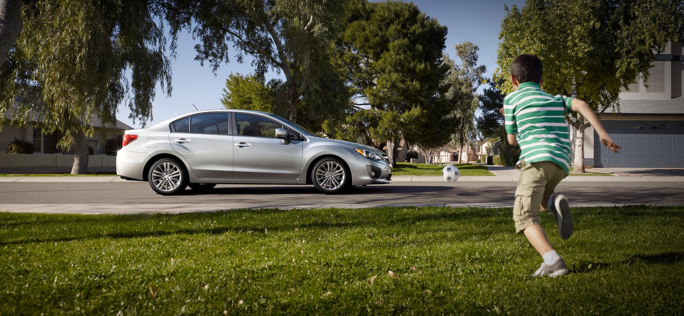2012 - Subaru Impreza 2-0i лимитированная четвертая версия (фотографии) - фотография №3