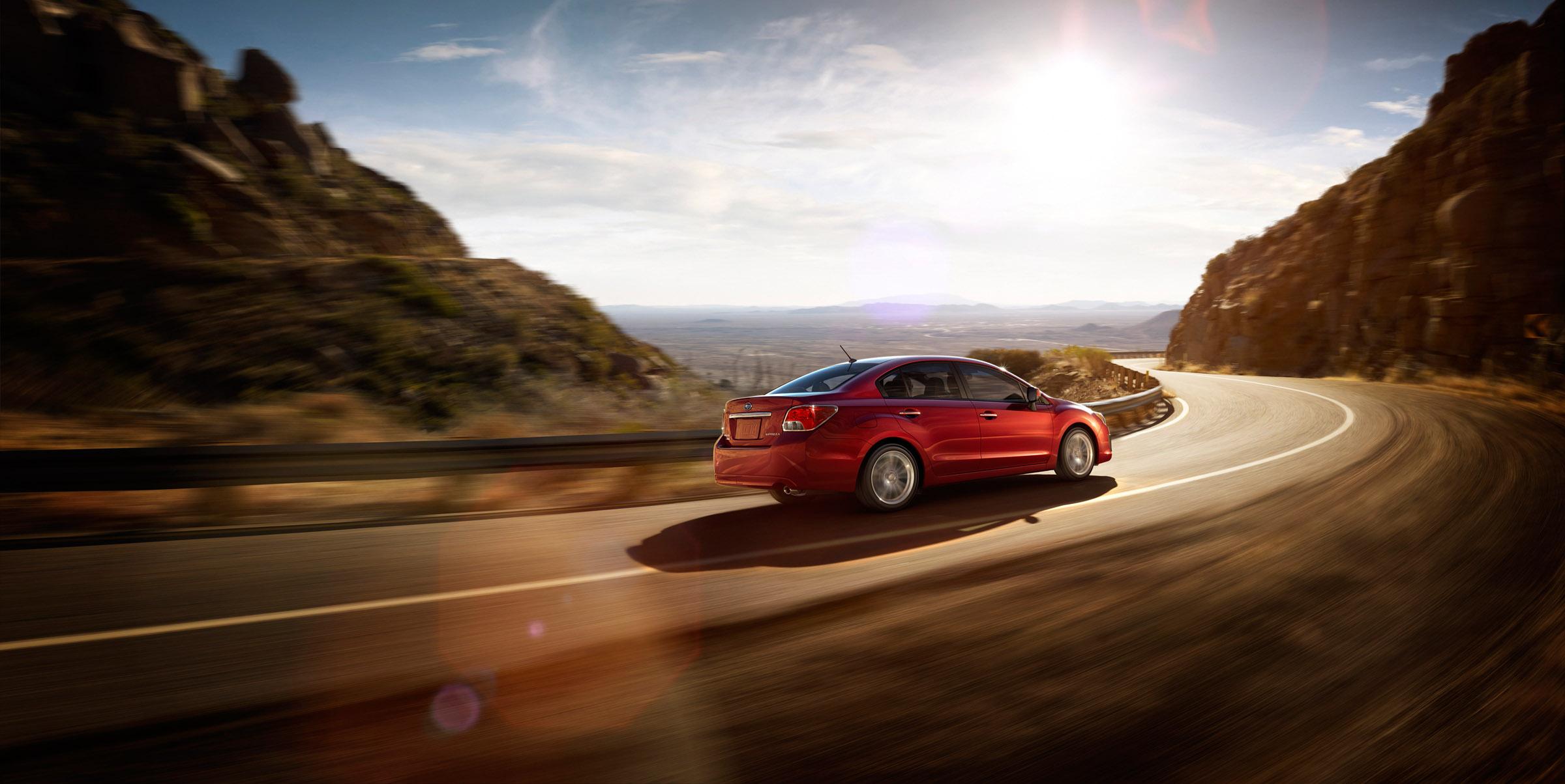 2012 - Subaru Impreza 2-0i лимитированная четвертая версия (фотографии) - фотография №4