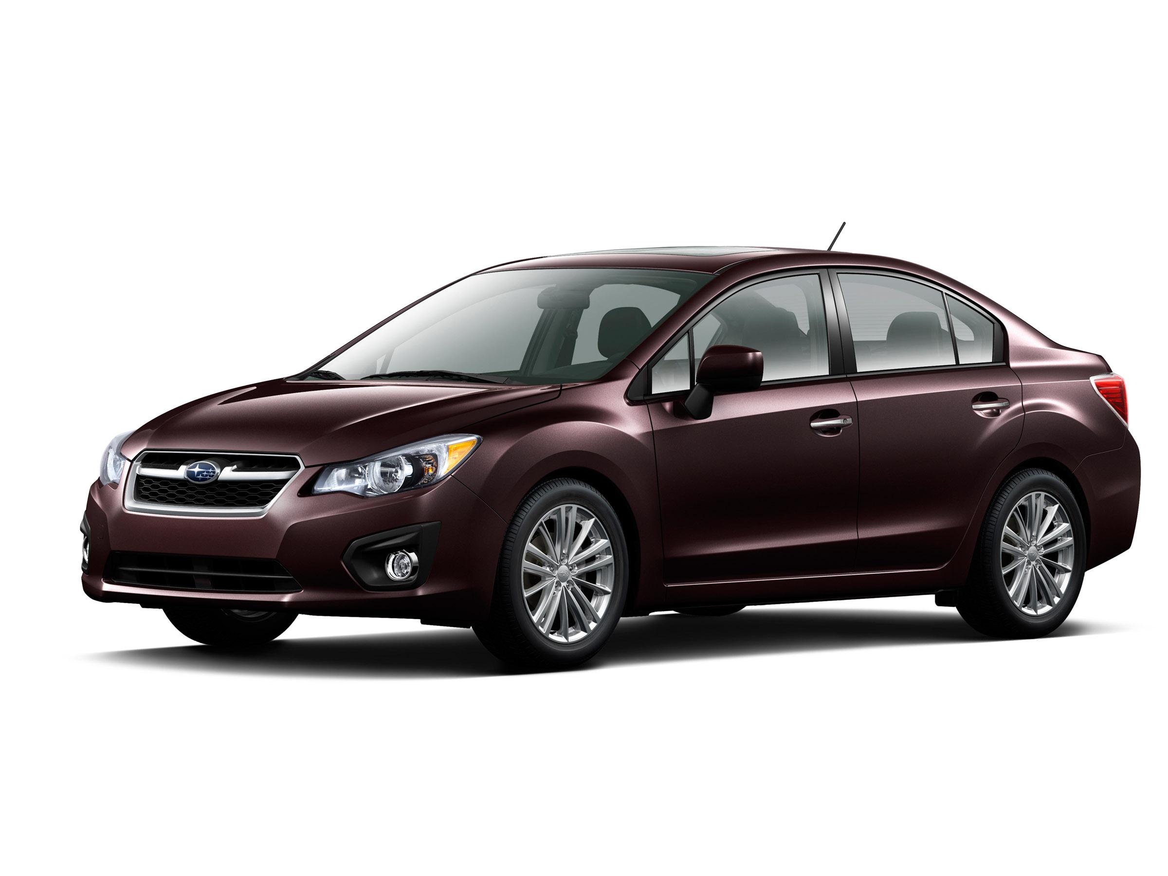 2012 - Subaru Impreza 2-0i лимитированная четвертая версия (фотографии) - фотография №5