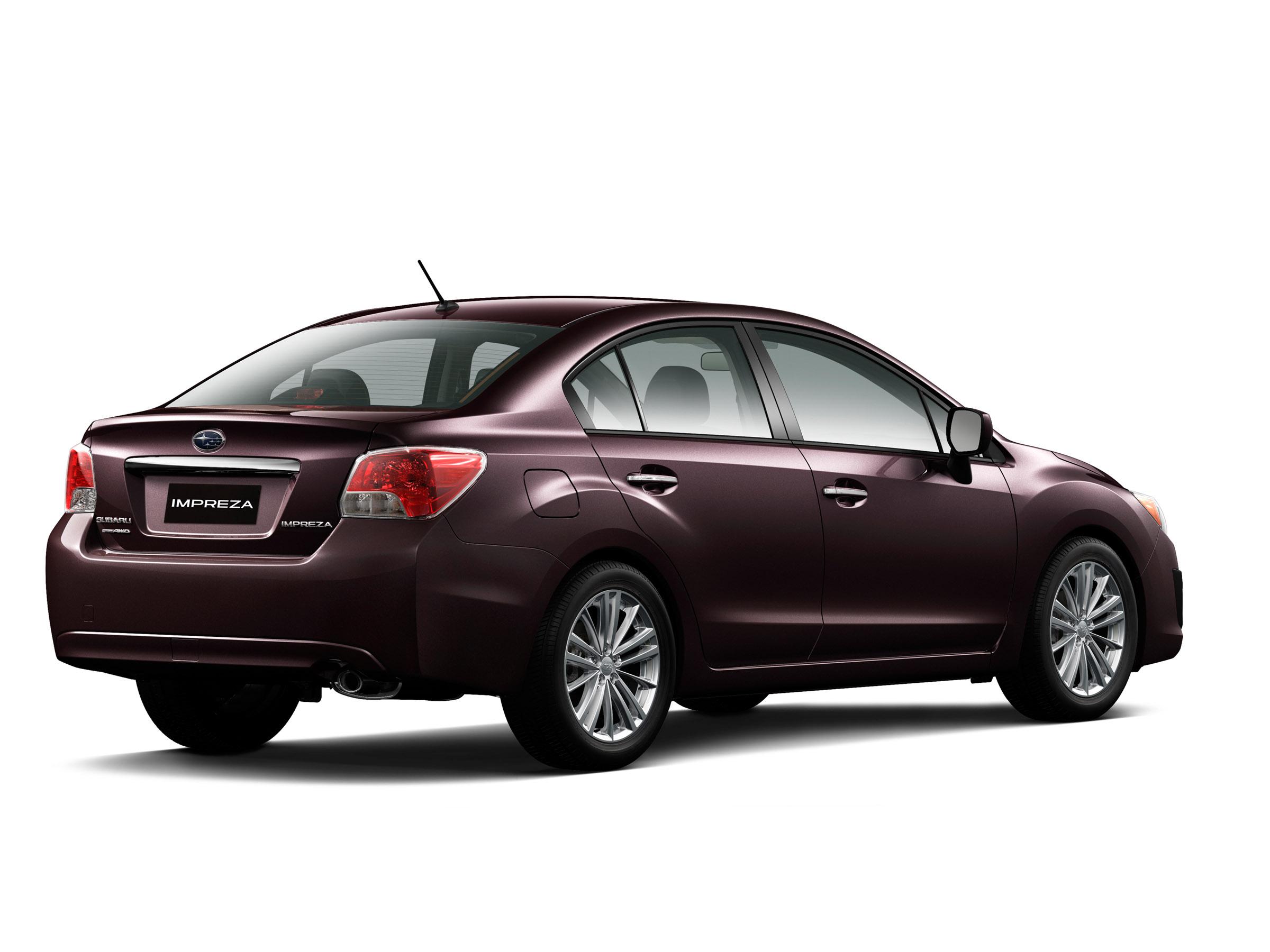 2012 - Subaru Impreza 2-0i лимитированная четвертая версия (фотографии) - фотография №6