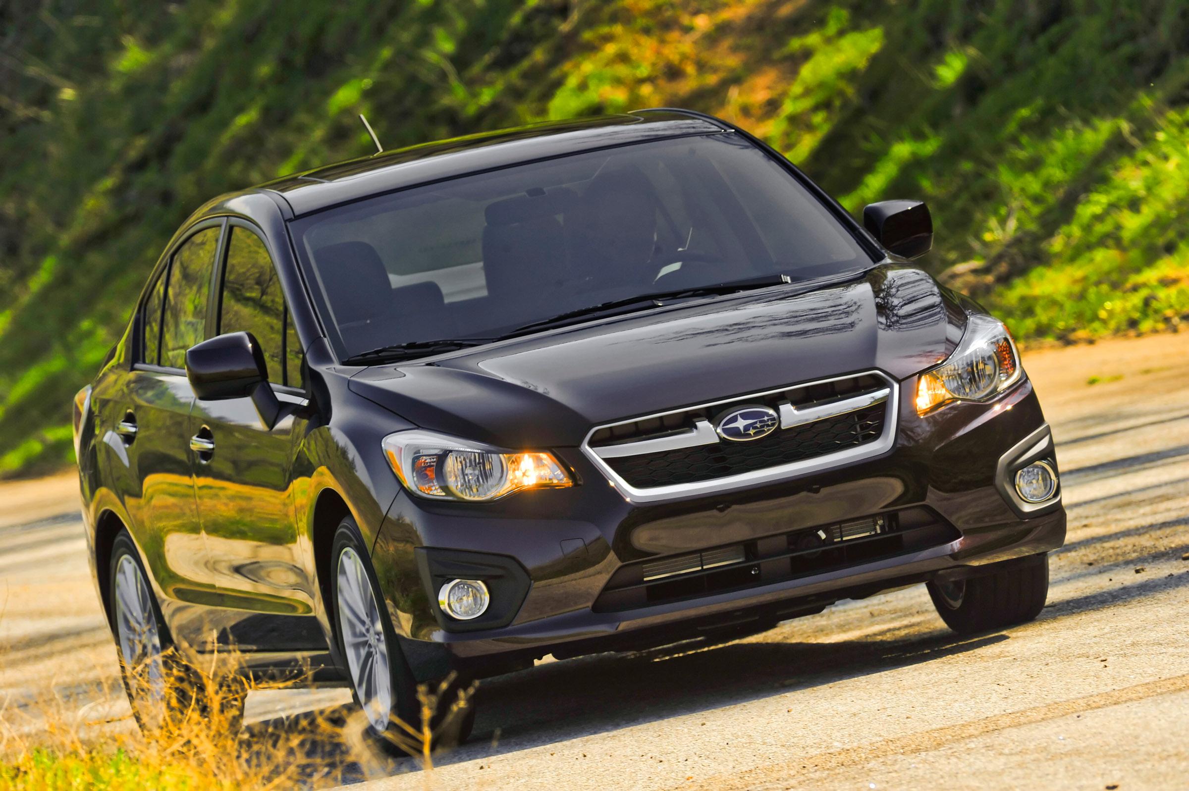 2012 - Subaru Impreza 2-0i лимитированная четвертая версия (фотографии) - фотография №9