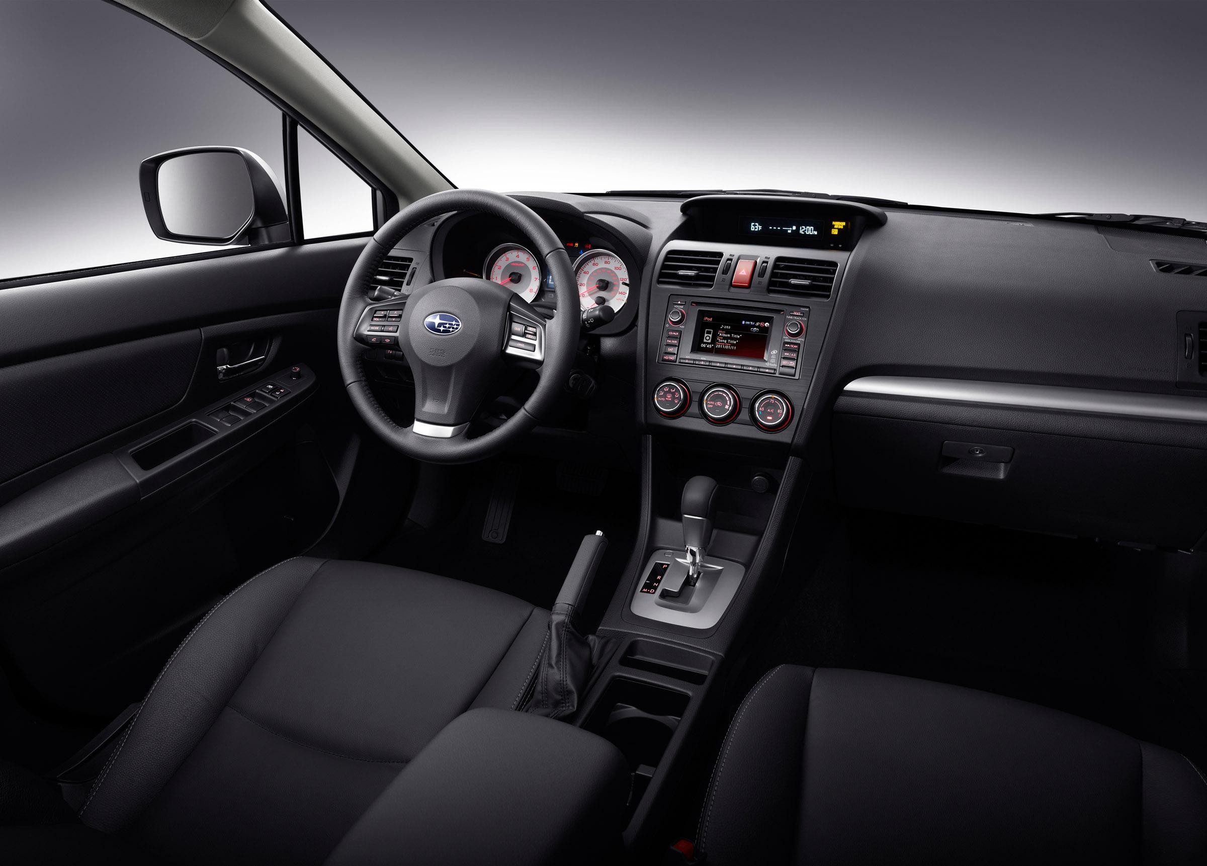 2012 Subaru Impreza официально представила - фотография №3
