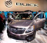 2013 Buick Encore Detroit 2012