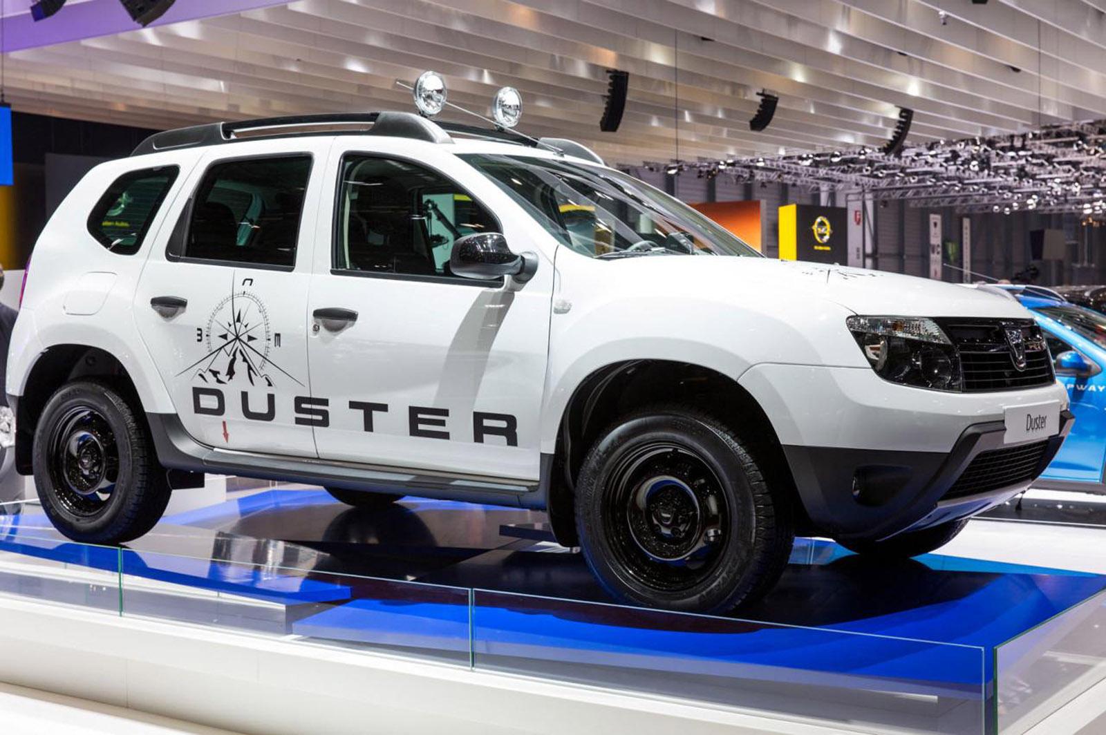 2013 Geneva Motor Show: Dacia Duster Adventure Edition  - фотография №1