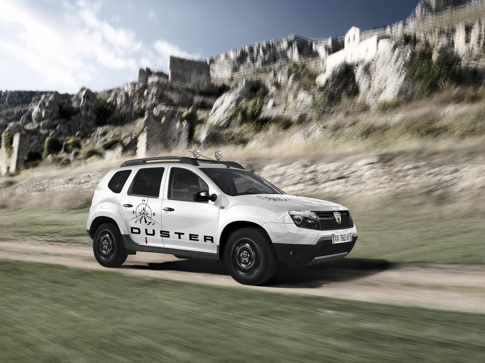 2013 Geneva Motor Show: Dacia Duster Adventure Edition  - фотография №2