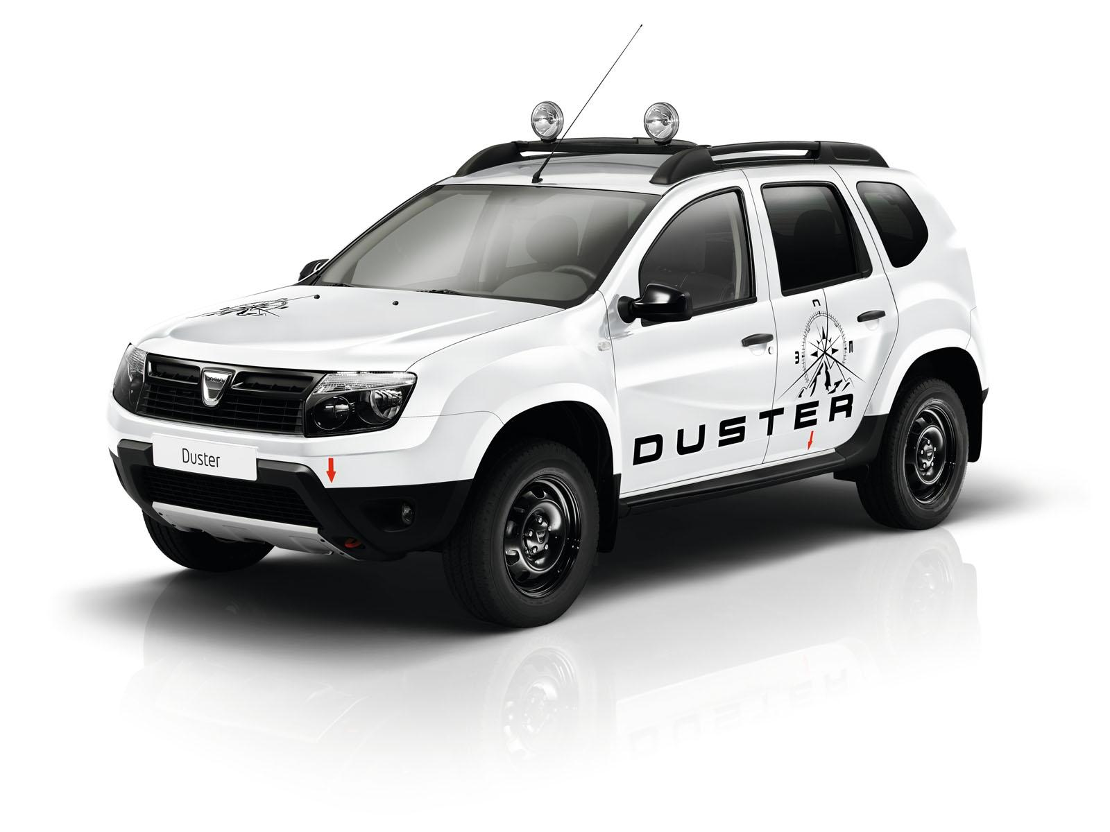 2013 Geneva Motor Show: Dacia Duster Adventure Edition  - фотография №3