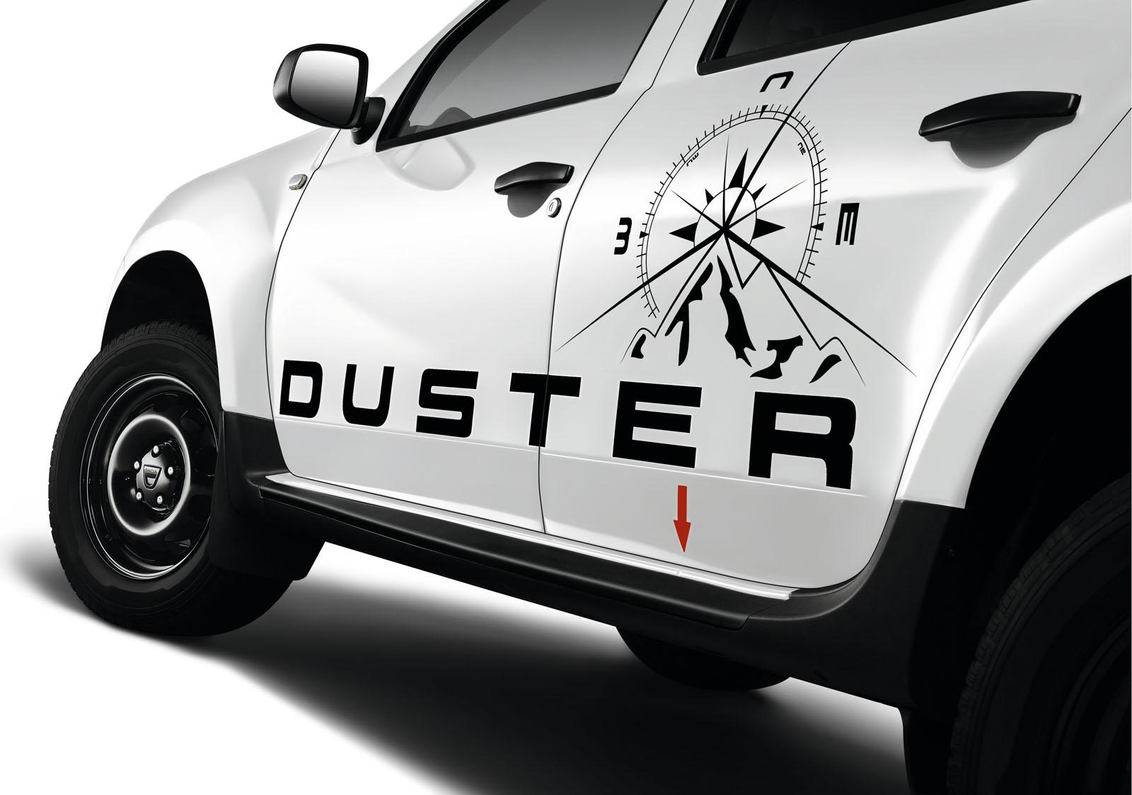 2013 Geneva Motor Show: Dacia Duster Adventure Edition  - фотография №6