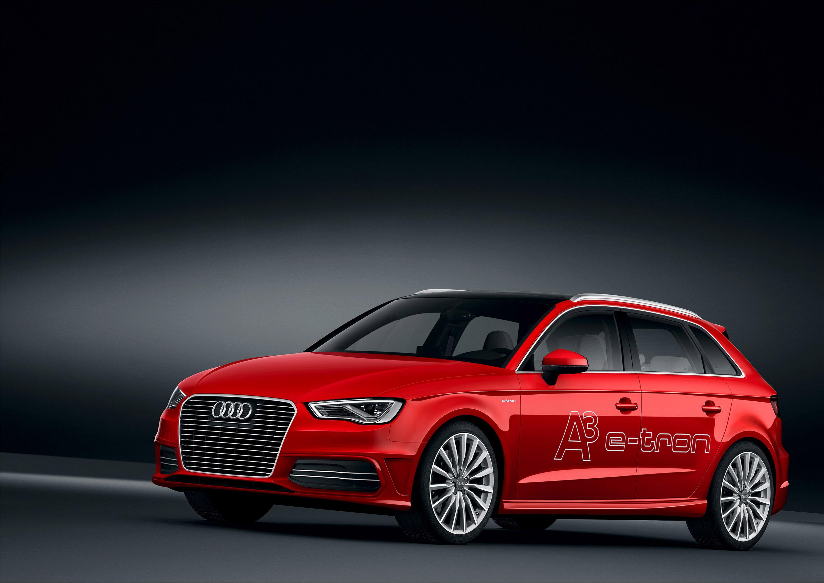 2014 Audi A3 e-tron обеспечивает эффективность и инновации  - фотография №1