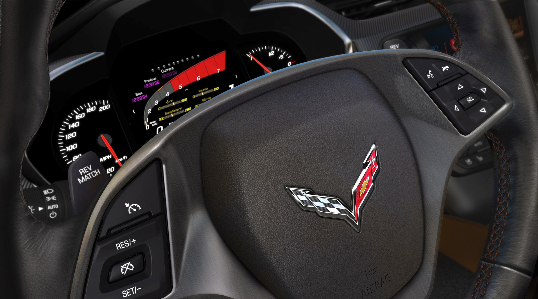 Cevrolet Corvette Stingray с мощностью двигателя в 460 л.с. - фотография №14