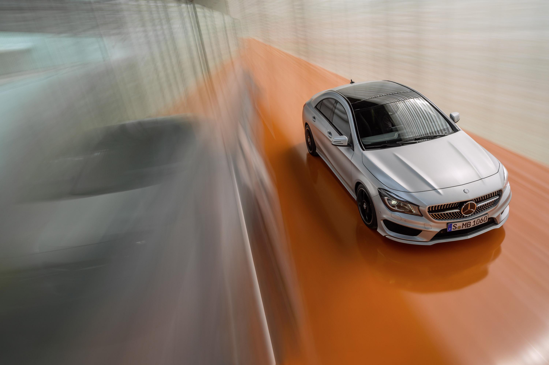 Mercedes-Benz CLA готовится к 2015 году, с большим количеством функций  - фотография №13