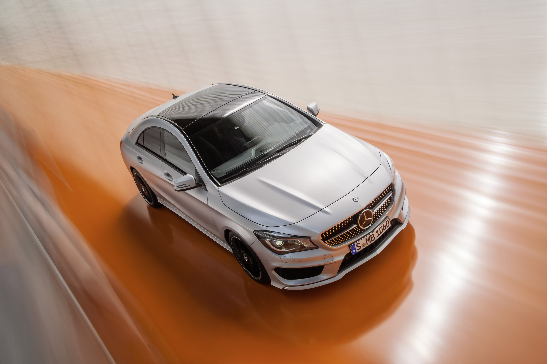Mercedes-Benz CLA готовится к 2015 году, с большим количеством функций  - фотография №14