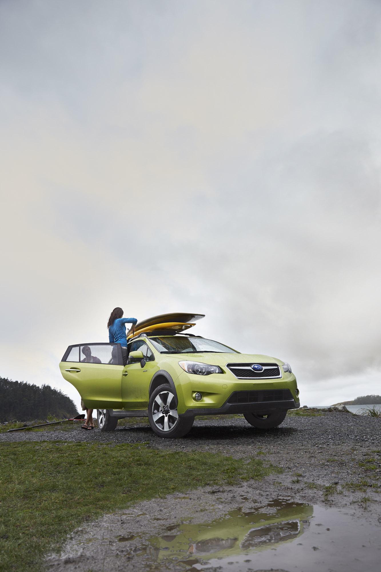 2014 Subaru XV Crosstek гибрид открыл в Нью-Йорке  - фотография №1