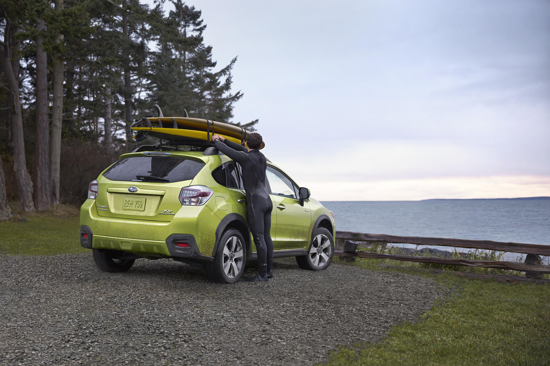 2014 Subaru XV Crosstek гибрид открыл в Нью-Йорке  - фотография №6