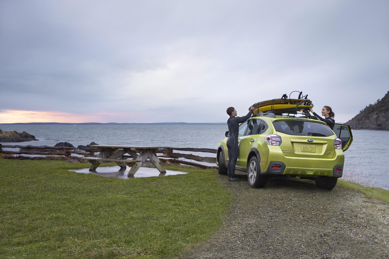 2014 Subaru XV Crosstek гибрид открыл в Нью-Йорке  - фотография №7