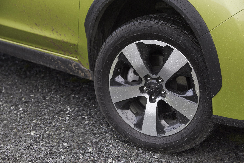 2014 Subaru XV Crosstek гибрид открыл в Нью-Йорке  - фотография №11
