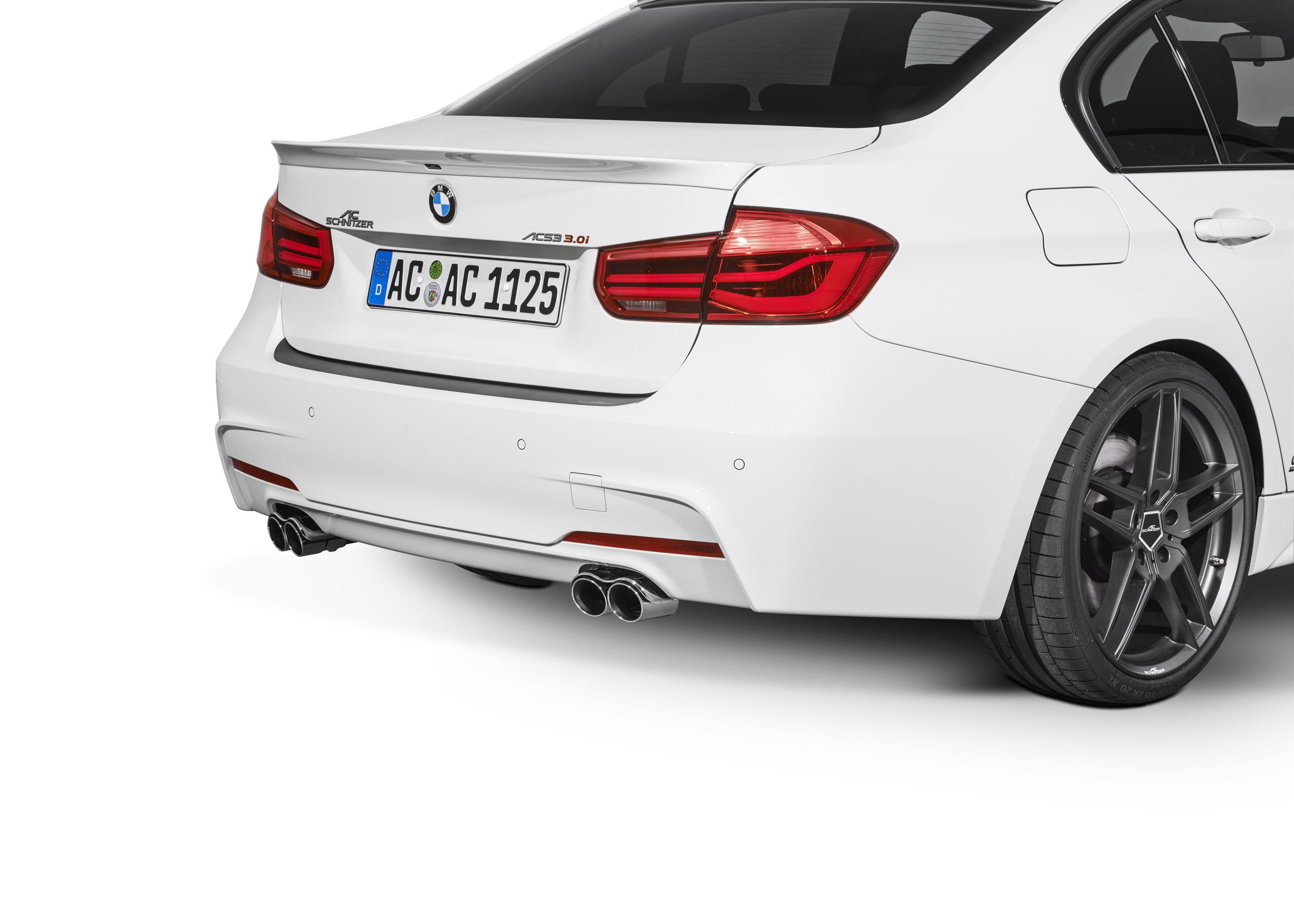 AC Schnitzer обновления BMW 3-й серии - фотография №7