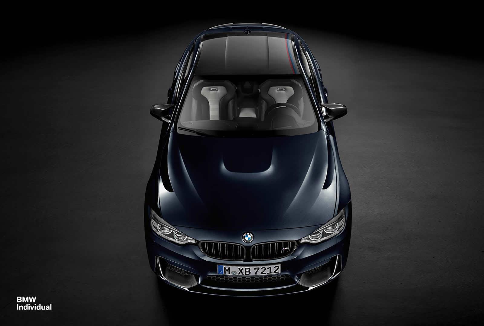 BMW индивидуальный pразднует 25-летие с таможней БМВ М4 куpе - фотография №1