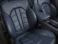 2015 Chrysler 200 Ambassador Blue Leather interior
