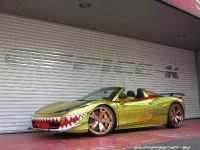 2015 Ferrari 458 Spider Golden Shark