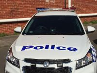 2015 Holden Cruze Victorian Police Vehicle