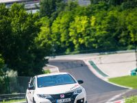 2015 Honda Civic Type R at famous race tracks