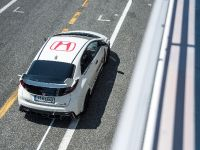 2015 Honda Civic Type R at famous race tracks