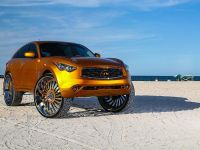 2015 Infiniti FX with 32-inch wheels