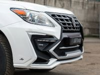 2015 Larte Lexus LX570 White Alligator