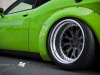 2015 Liberty Walk Dodge Challenger Hellcat Green