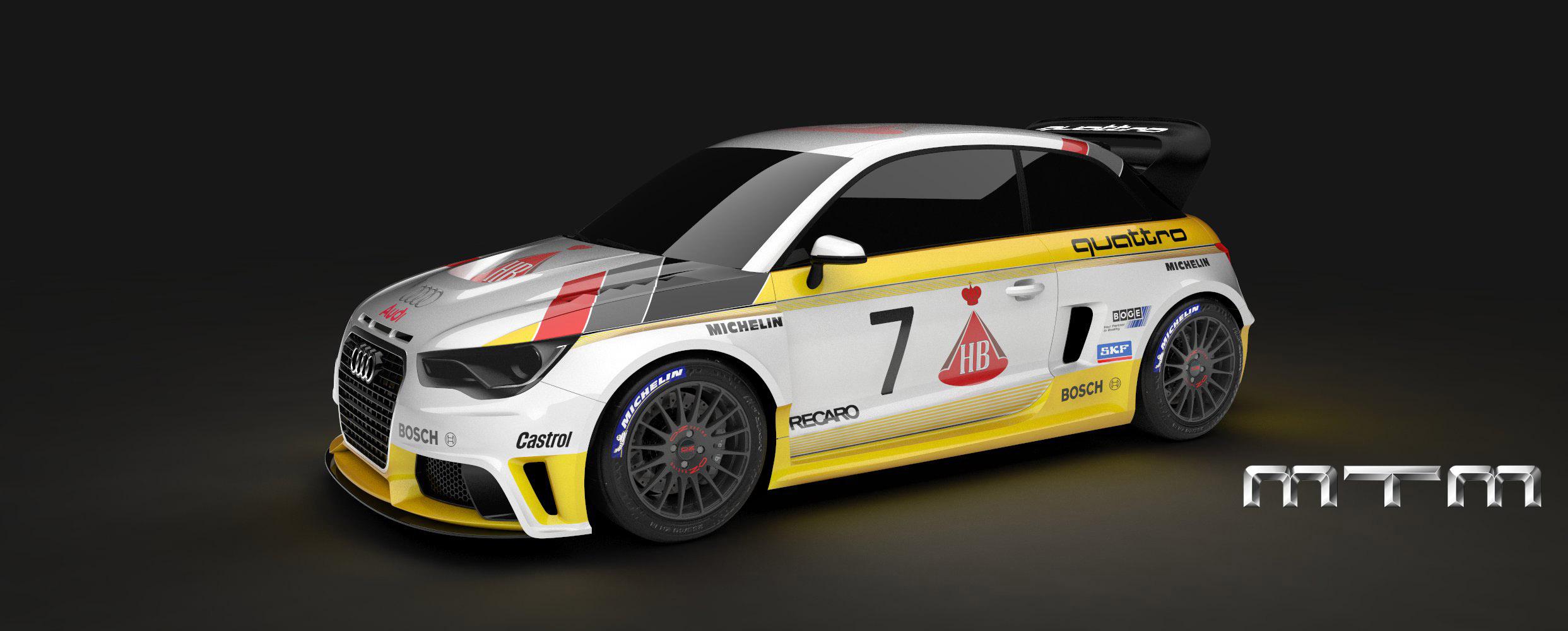 MTM Audi A1 quattro nardo edition - фотография №7