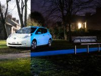 2015 Nissan Leaf Glow-in-the-Dark