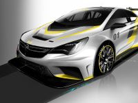 2015 Opel Astra TCR Sketches