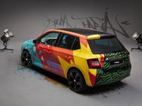 2015 Skoda Fabia Street Art