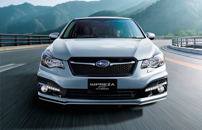 Subaru Impreza Sport hybrid - фотография №1