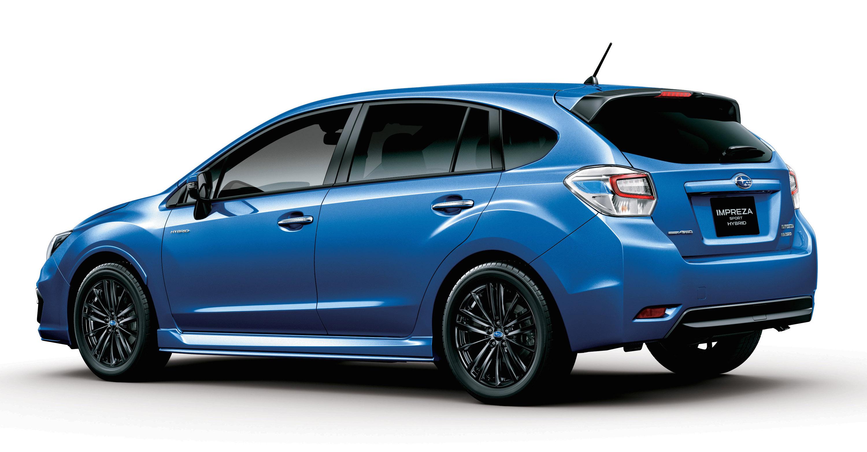 Subaru Impreza Sport hybrid - фотография №9