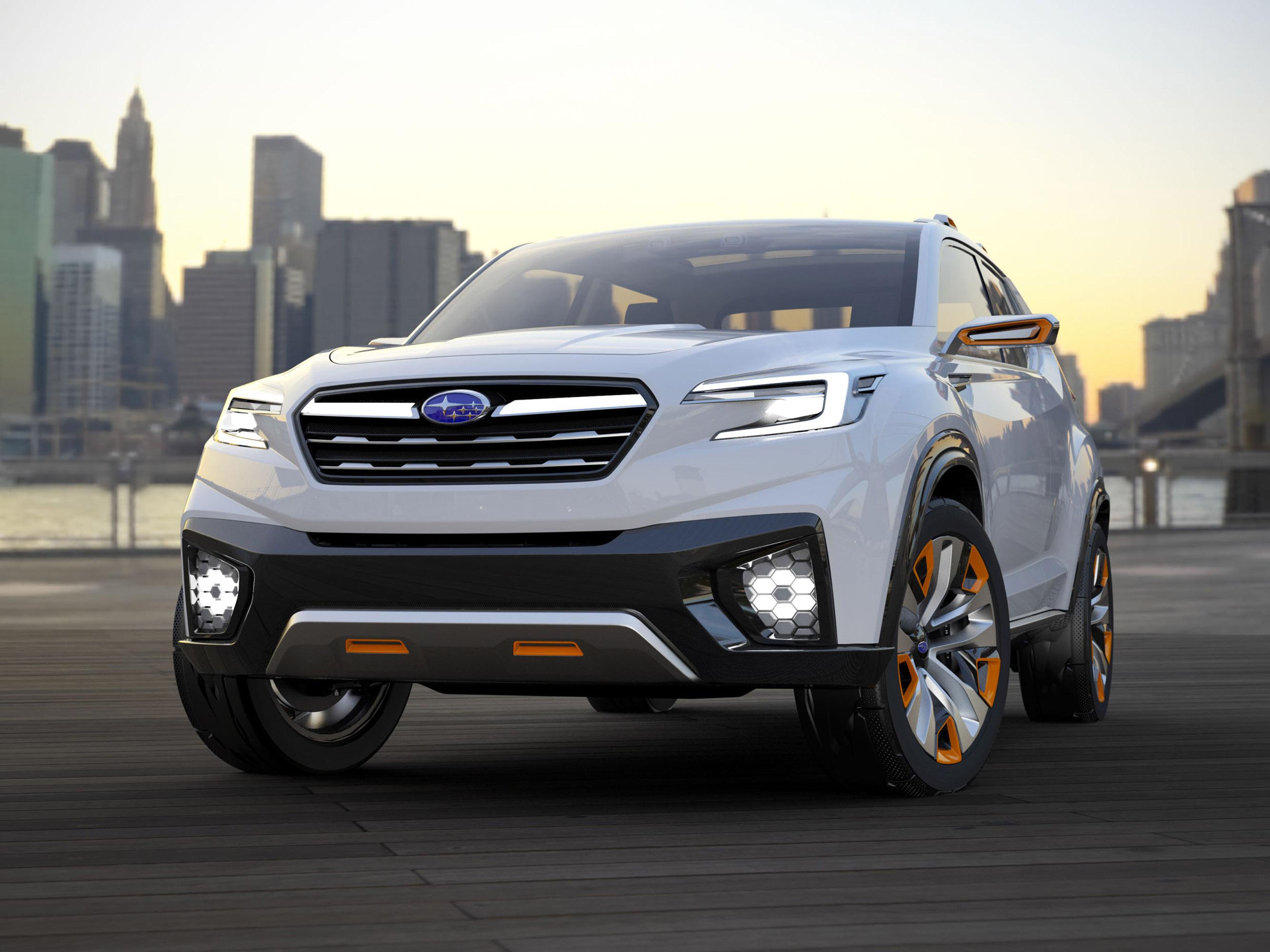 Subaru viziv future - concept - фотография №4