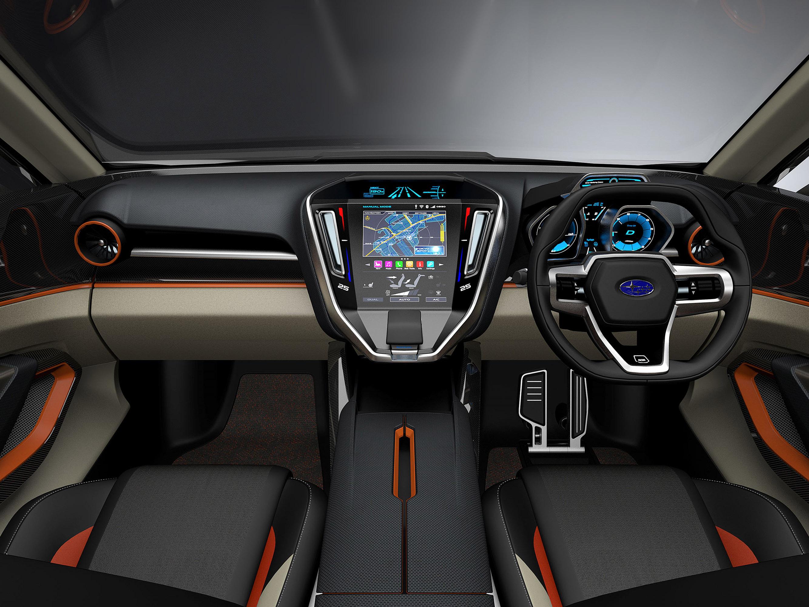 Subaru viziv future - concept - фотография №9