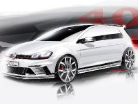 2015 Volkswagen Golf GTI Clubsport Sketches