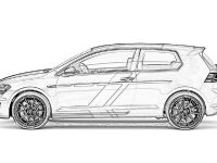 2015 Volkswagen Golf GTI Performance one-off Sketches
