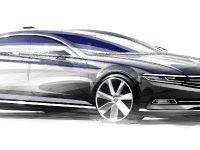 2015 Volkswagen Passat Sketches