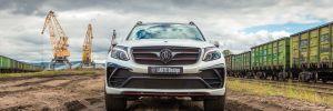 2016 LARTE Design Black Crystal Mercedes-Benz GLS