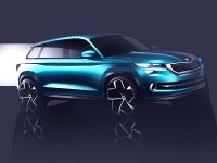 2016 Skoda VisionS Concept Sketches