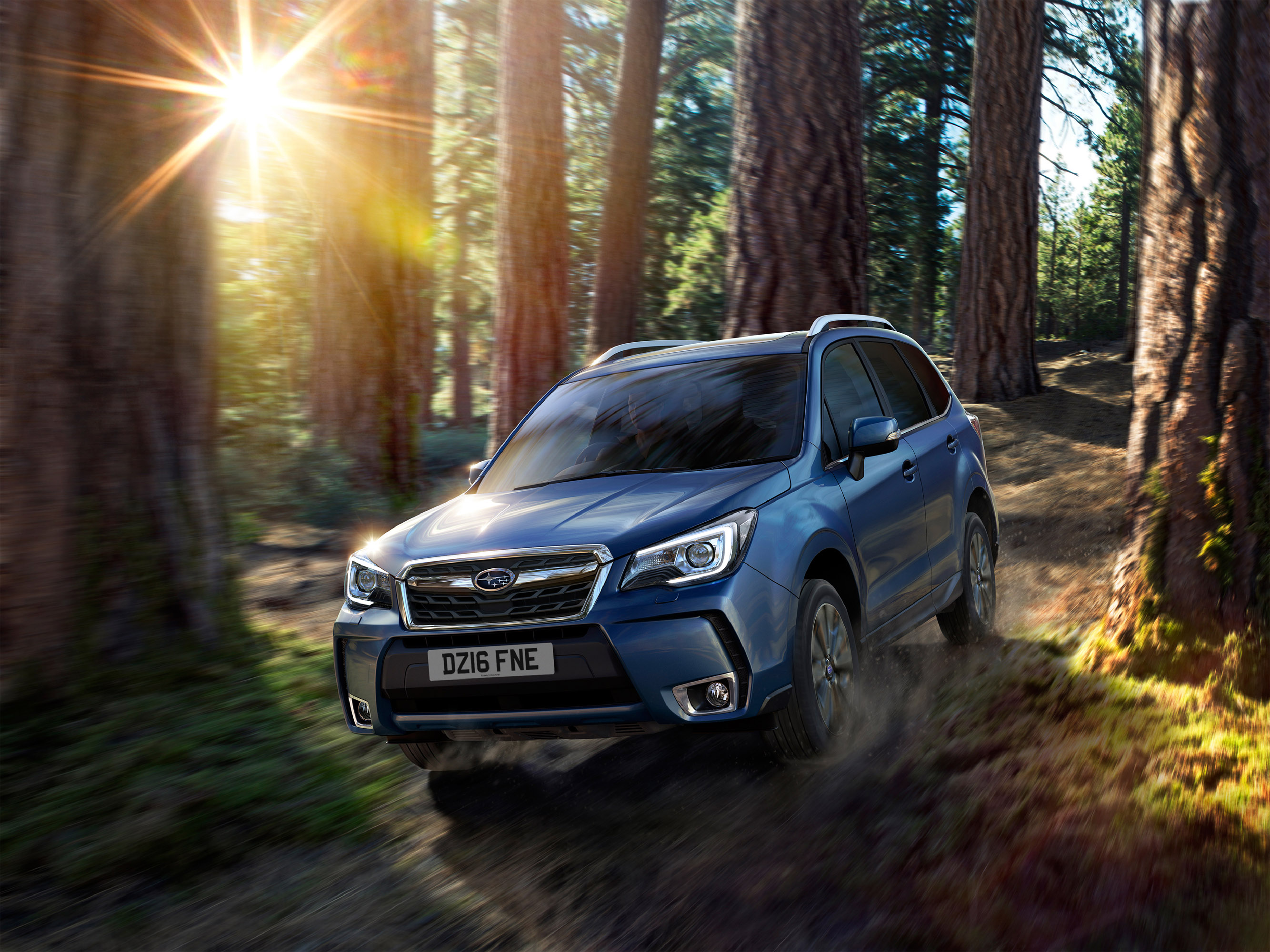 Subaru Forester Facelift - фотография №1