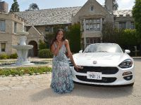 2017 Fiat 124 Spider and Eugena Washington